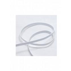Elastique blanc plat 6mm